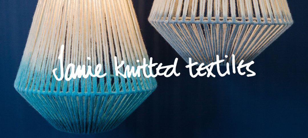 janie knitted textiles at london design fair