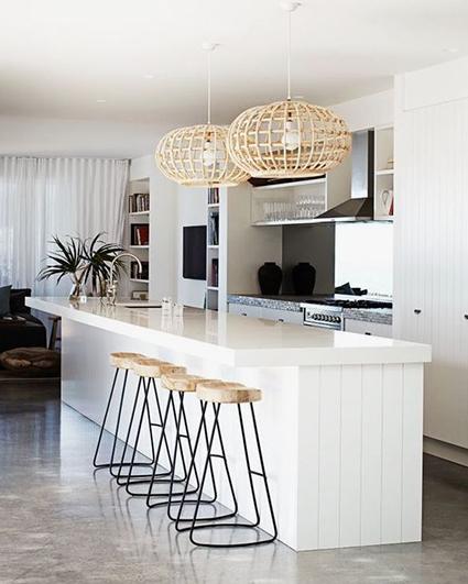 white kitchen interior design_