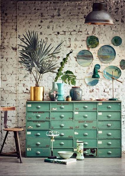 botanical interiors 2018 design trend___