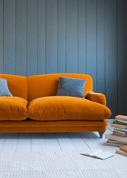 bright color mixes with purple interior design trend 2018_________